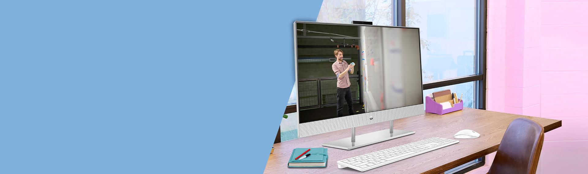 HP ALL IN ONE. Construidas con diseño e innovación inteligente.