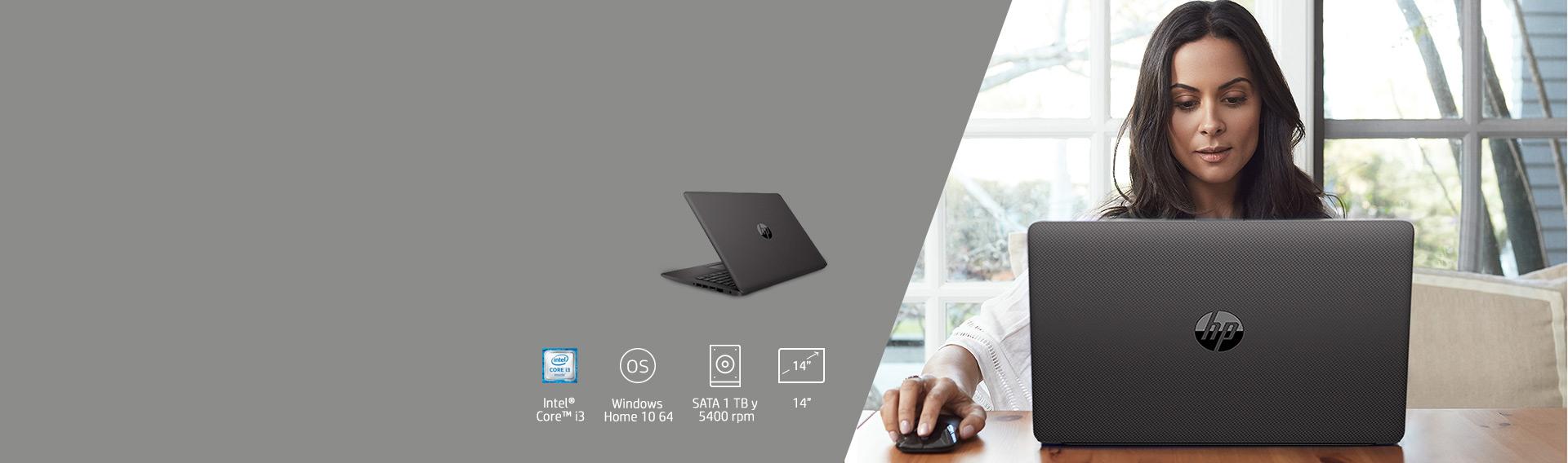 Aprovecha Notebook HP 240 G7 151D6LT en $399.990*