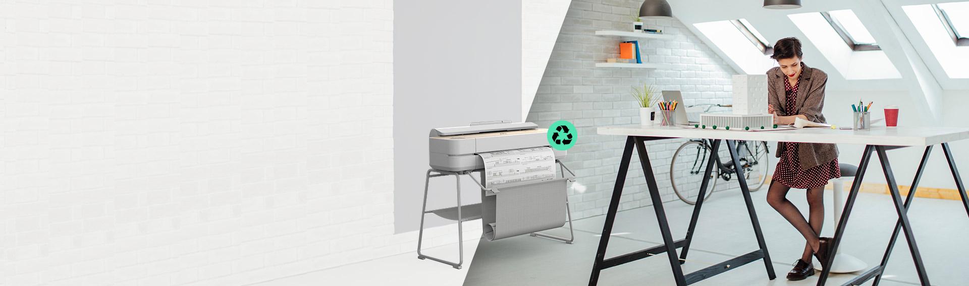 Nueva Serie HP DesignJet. Los plotters más sustentables que nunca.*