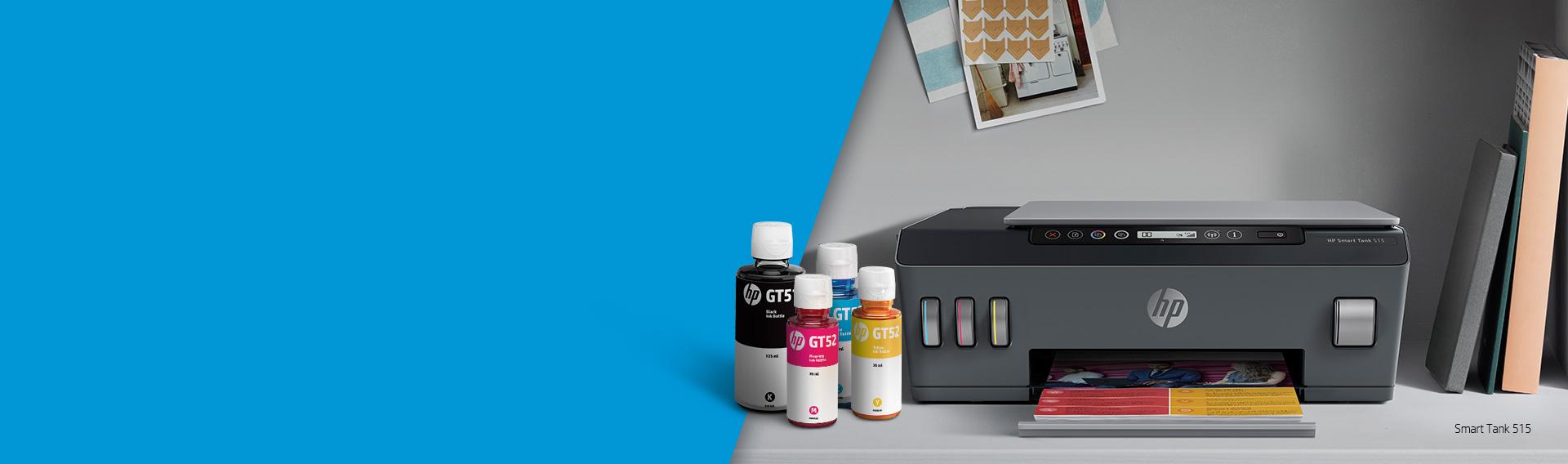 Con Smart Tank HP imprime hasta 12.000 páginas a ultra bajo costo.