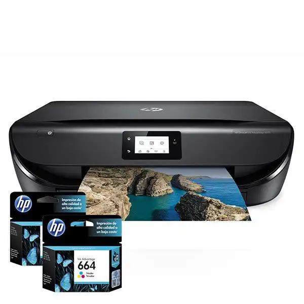 Cartuchos de Tinta para Impresora Multifuncional HP DeskJet Ink Advantage 5075