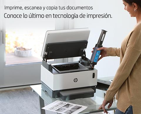 Conoce lo último en tecnología de impresión HP