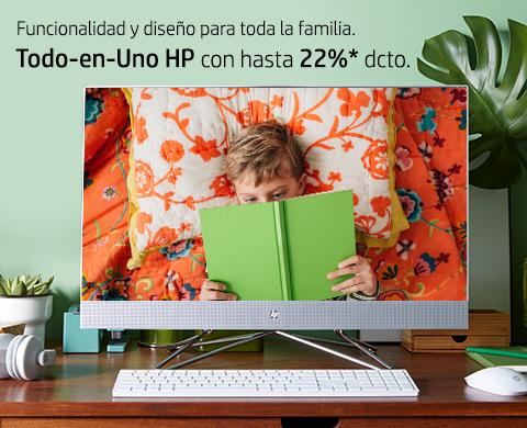 Todo-en-Uno HP con hasta 22%* dcto.