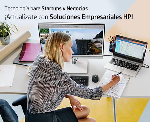 ¡Actualízate con Soluciones Empresariales HP!