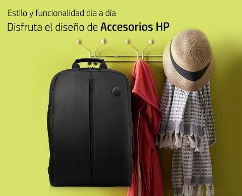 Estilo y funcionalidad día a día. Disfruta el diseño de Accesorios HP.