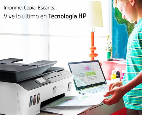 Vive lo último en tecnología de impresión HP