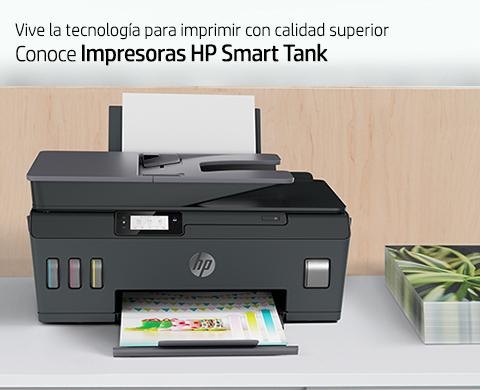 Impresoras HP Smart Tank. Tecnología para imprimir con calidad superior.
