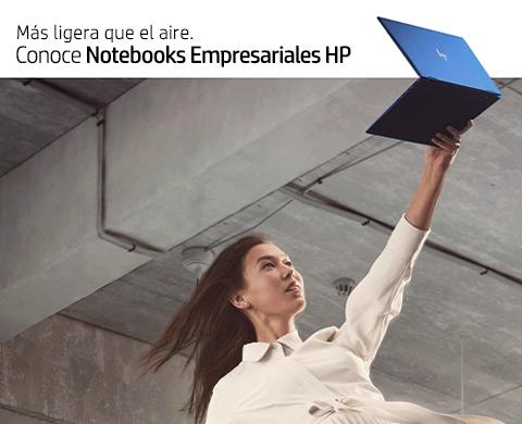 Más ligeras que el aire. Conoce Notebooks empresariales HP.