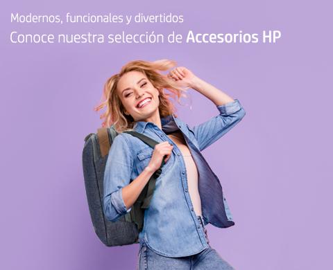 Conoce nuestra selección de accesorios HP