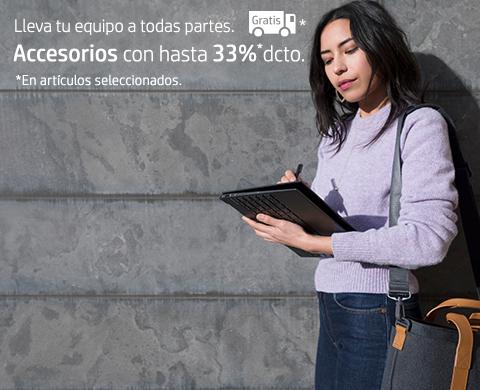Accesorios HP con hasta 33% dcto. y envío gratis en seleccionados.