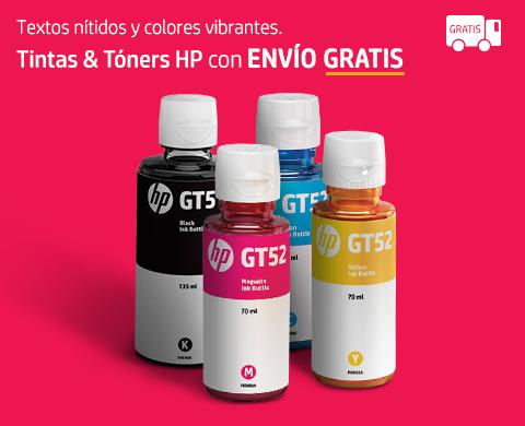 Tintas & Tóners HP con envío gratis