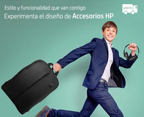 Experimenta el diseño de Accesorios HP.