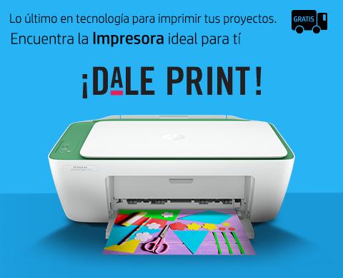 En HP encuentra la impresora ideal para tí.