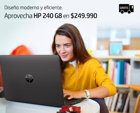 Hp 240 G8 en $249.990